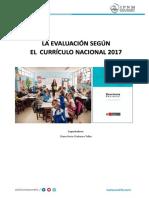 Evaluación Según El Curriculum Nacional 2017