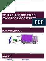 FISICA Palanca,Polea.plano Inclinado