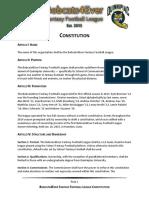 B4EFFL Constitution