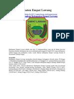 Profil Kabupaten Empat Lawang