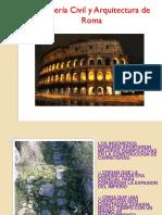 Ingeniería Civil y Arquitectura de Roma
