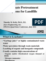 6 - Leachate Pretreatment Options