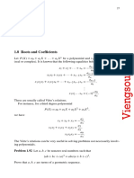 Roots and Coefficients