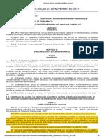 Epti Lei Nº 16.205, De 24 de Novembro de 2017