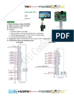 Confu HDMI to LVDS RGB TTL Driver_Specification V1802