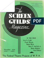 The Screen Guilds' Magazine V2 NO9 November 1935