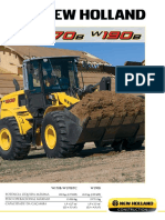 NEW HOLLAND W170 B W190 B