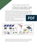 Ahorro de Energía Eléctrica en Hogares Con Interconexión a CFE