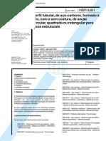 ABNT NBR 8261 - 1983 - Perfil tubular de Aço-Carbono Formado a Frio.pdf
