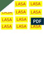Stiker Lasa