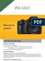 Manual español de camara az651