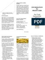FairTSA Information for Producers Brochure En