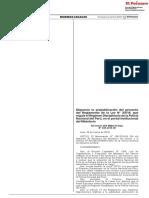 Ley 30714 Regimen Disciplinario PNP Perú