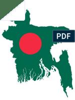 Bangladesh Map Flag