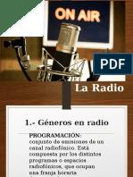 Géneros y Formatos en Radio