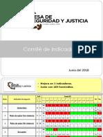 Mesa de Seguridad y Justicia de Ciudad Juárez-Junio 2018
