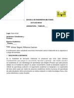 Acta de Inicio Tuneles 2018-2