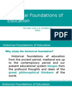 Historical Foundations of Education
