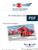 Air Ambulance Service - Flying Doctors Nigeria