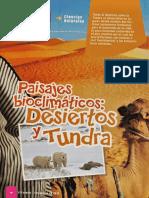 Desiertos y Tundra - El Escolar