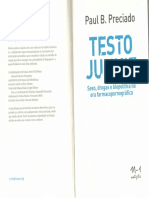 PRECIADO, Paul B. Tecnosexualidade. in Testo Junkie(2018)
