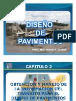 DISEÑO de PAVIMENTOS Ejercicio de Transito