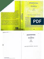 Parte 1- Arquitetura & Politica