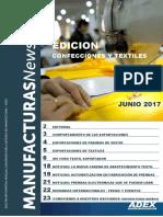Boletin Confecciones y Textil - Enero a Junio 2017