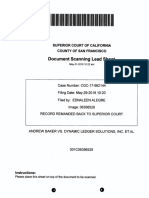 Baker v Tezos 5/31/18  Remand Order