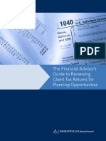 Guide for Reviewing Client Tax