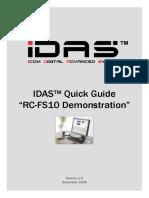 IDAS RC-FS10