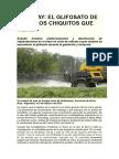 URUGUAY-El Glifosato de Hoy y Los Chiquitos Que Vienen