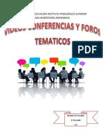 Videos Coferencias y Foros Tematico (1)