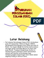 an Persidangan Islam (Oic)