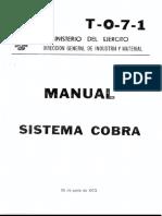T-0-7-1 Sistema Cobra Parte 1