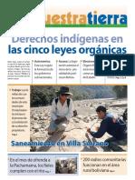 [Periódico] FT-Derechos Indigenas en Las Cinco Leyes Organicas (2010)