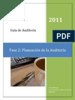 Guía Planeación de La Auditoría Según Nia