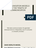 COMMUNICATION MODELS AND THE TENETS OF COMMUNICATION.pptx