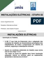 instalações eletricas etapa 02