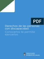 Cartilla Sobre Derechos de Las Personas Con Discapacidad