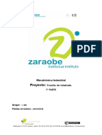 Taladro Burua POI 1 Zatia Entregatua