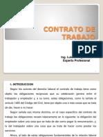 2.- Contrato de Trabajo