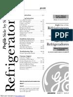 GE Side by Side Refridgerator 26