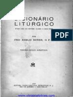 DICCINARIO LITURGICO PORTUGUES