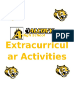 AHS Extracurricular Activities