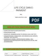 Web-life Cycle Dan E-payment