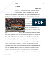 hunt commentary final draft revision how to revitalize nascar