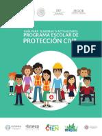 Guía Para Elaborar o Actualizar El Programa Escolar de Protección Civil