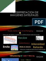 Unidad 7 ppt INTERPRETACIÓN DE IMÁGENES RADAR