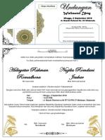 Upload File Contoh Undangan Pernikahan Walimatul Ursy Dengan Format Microsoft Word